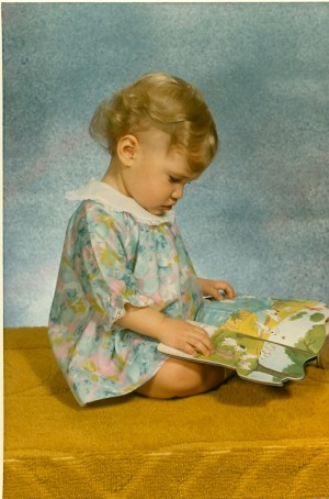 Little Kim Reading